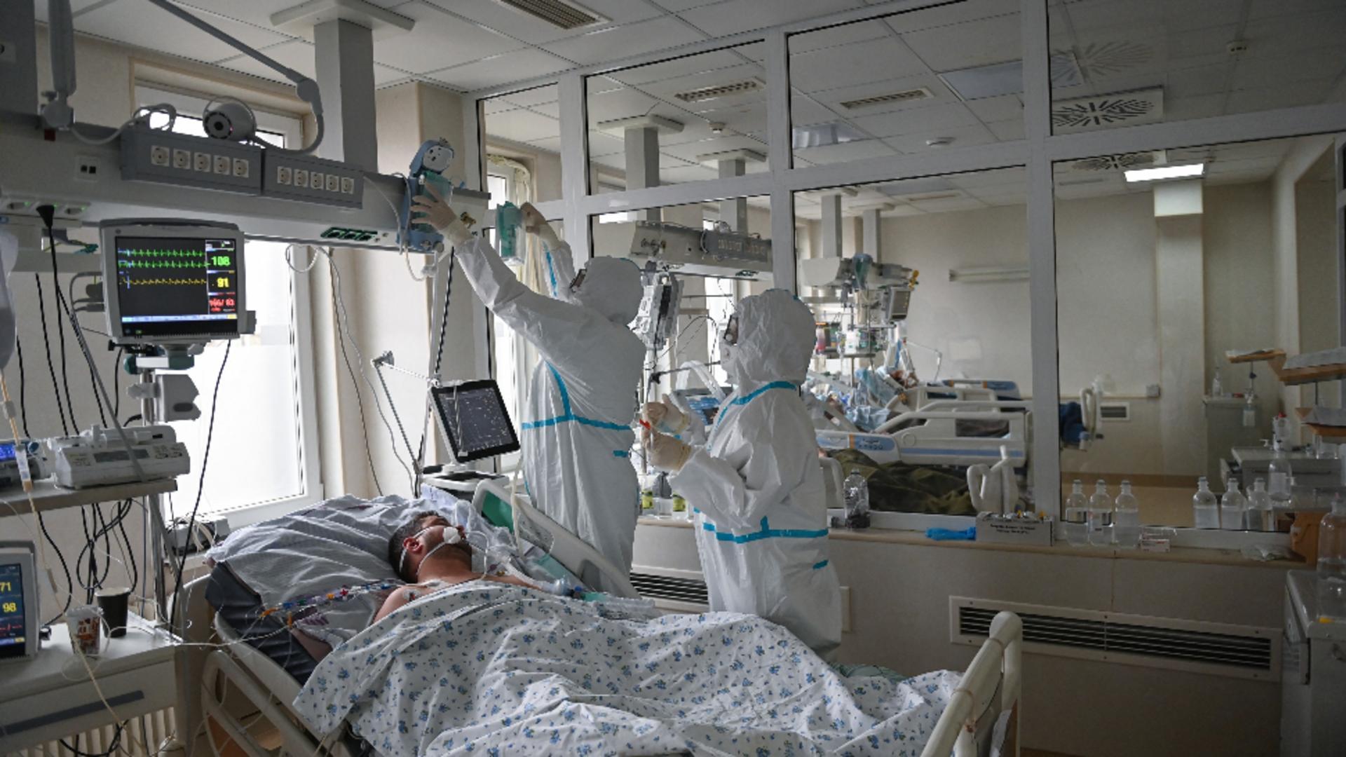 Medic, avertisment sumbru: Va fi un număr tot mai mare de pacienți internați la Terapie Intensivă