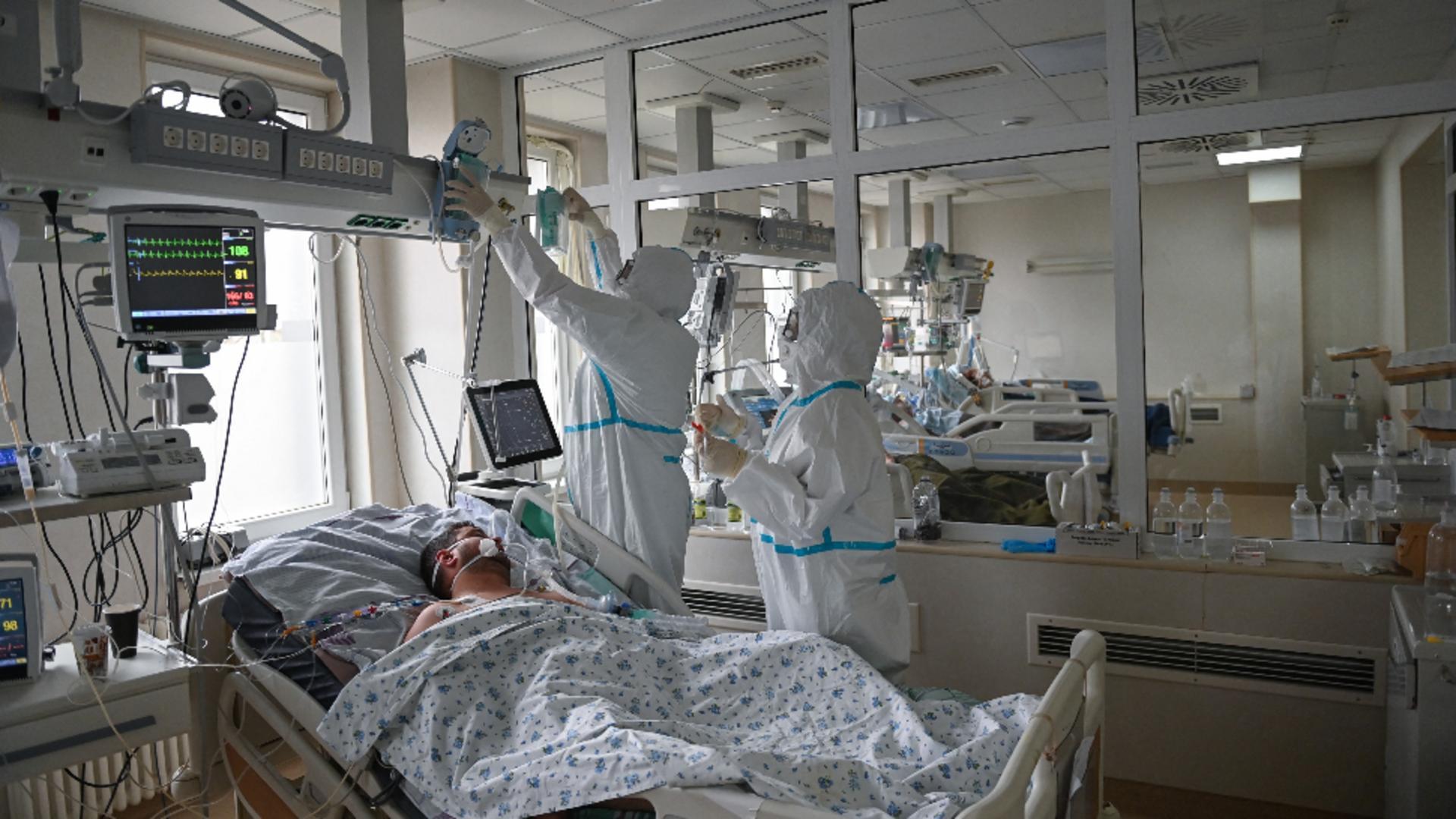 Ungaria oferă sprijin României pentru tratarea pacienţilor COVID-19. Foto/Profimedia