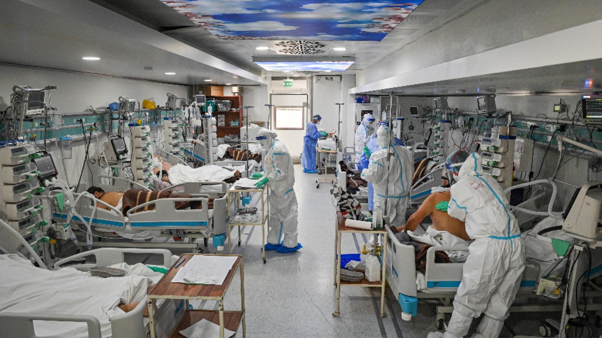 Rusia, nou record zilnic de infectări şi de decese / FOTO: Profi Media
