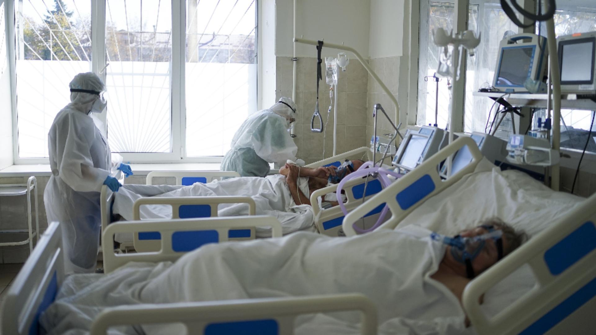 Spitalul modular de la Lețcani, redeschis după 8 luni / FOTO: Profi Media