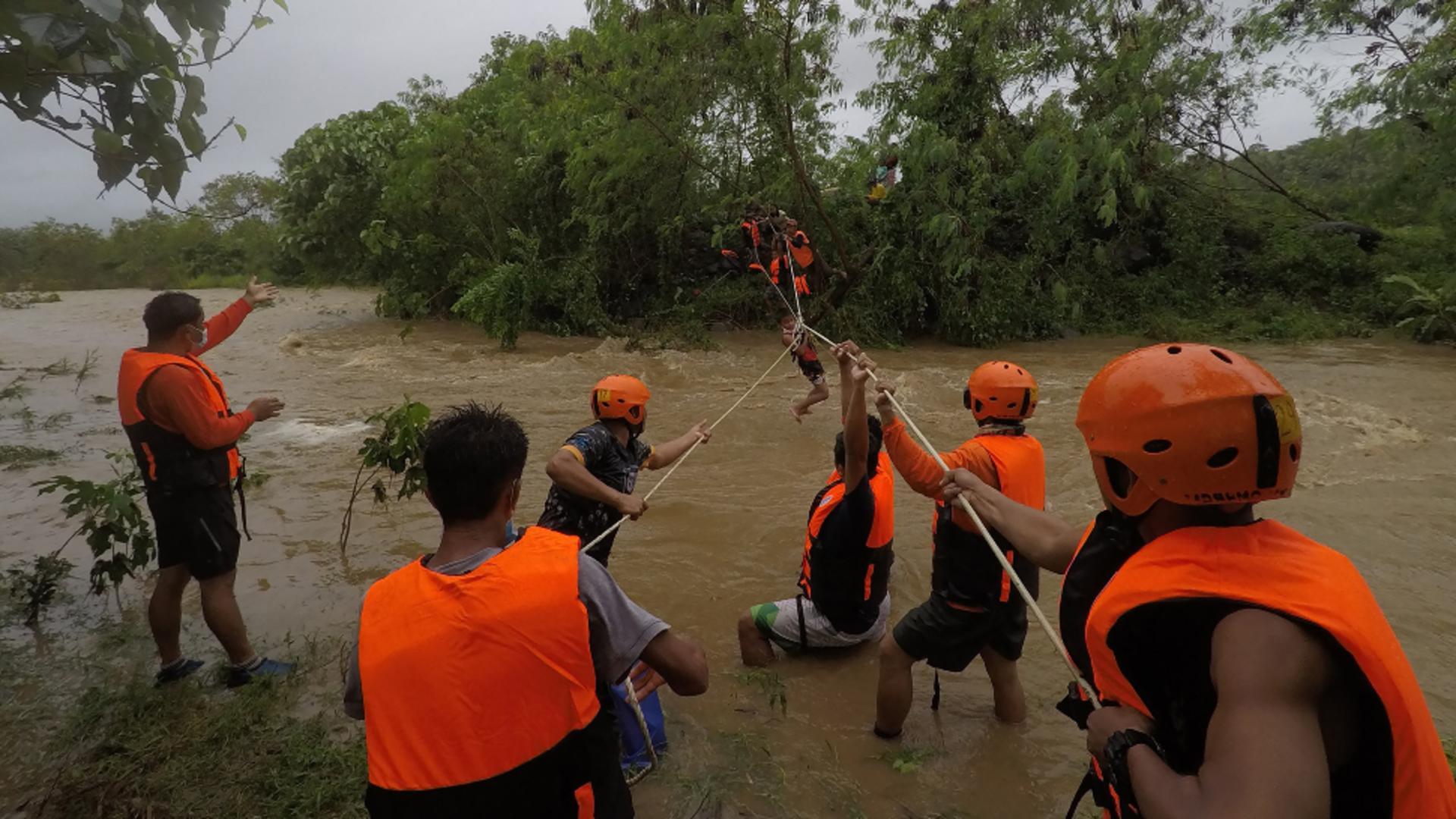 Furtună în Filipine / Sursa foto: Profi Media