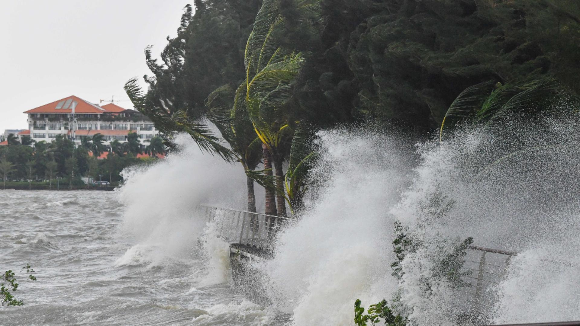 Dezastru după furtuna Kompasu în Filipine. Sursa foto: Profi Media