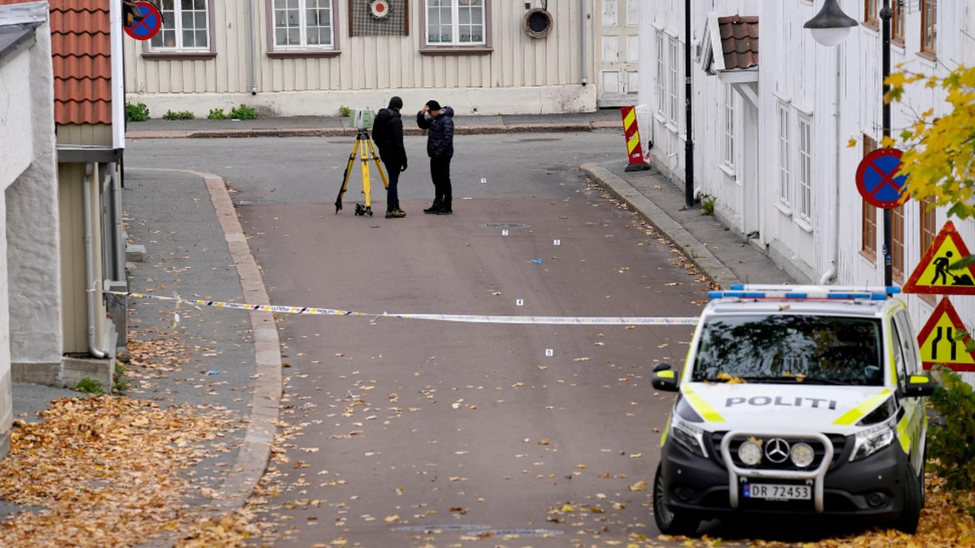 Atac sângeros în Norvegia / Proimedia