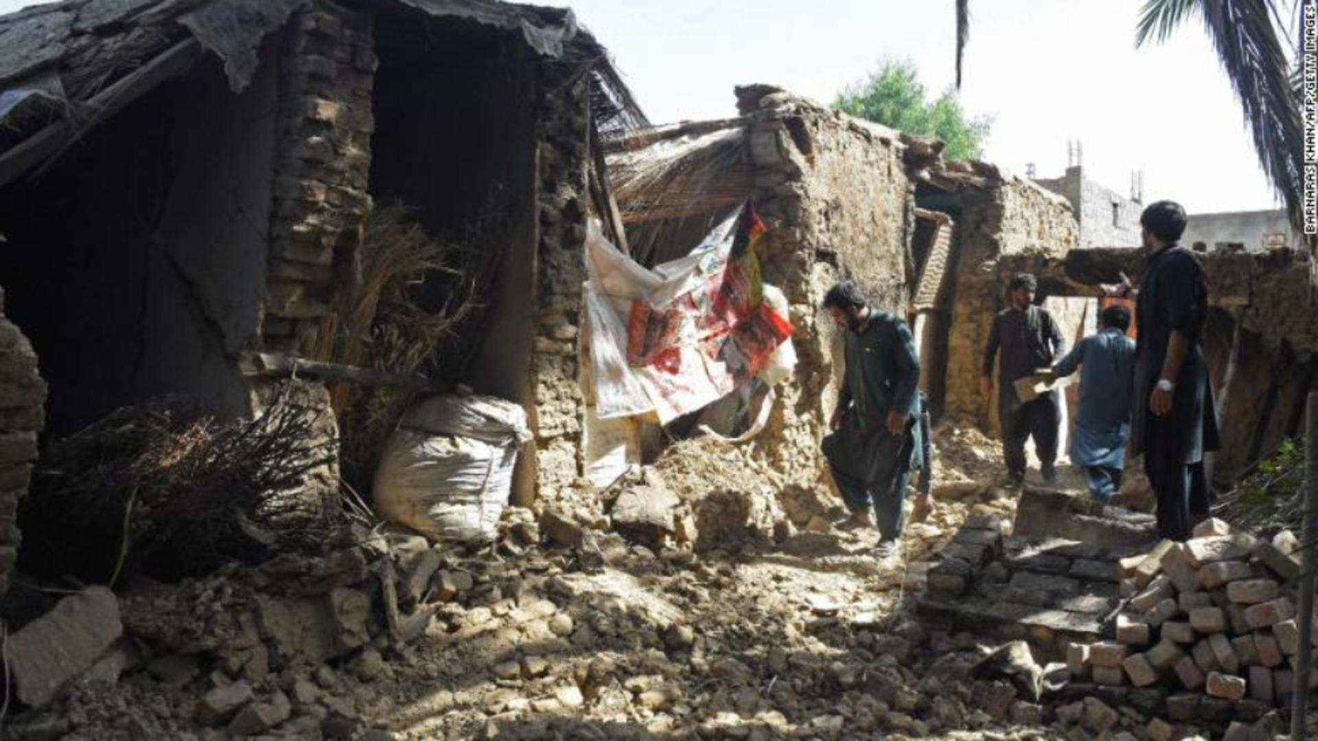 Cutremur în Pakistan / FOTO: Profi Media