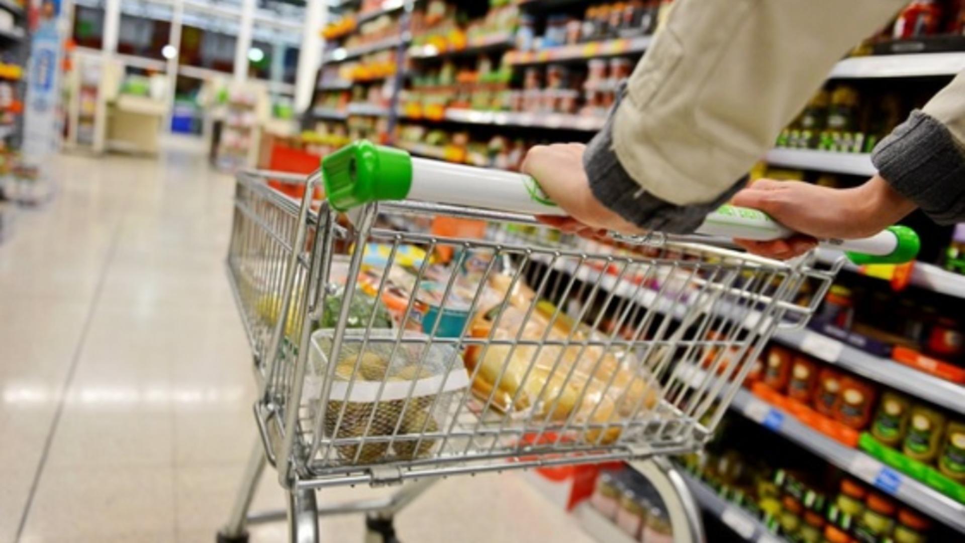 Certificat verde în supermarket